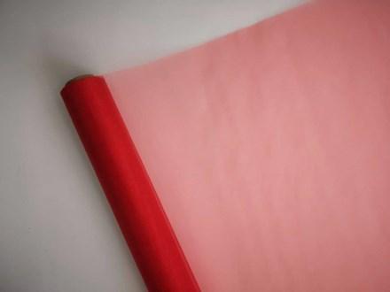 Bright Red Organza Roll 71cm BR971