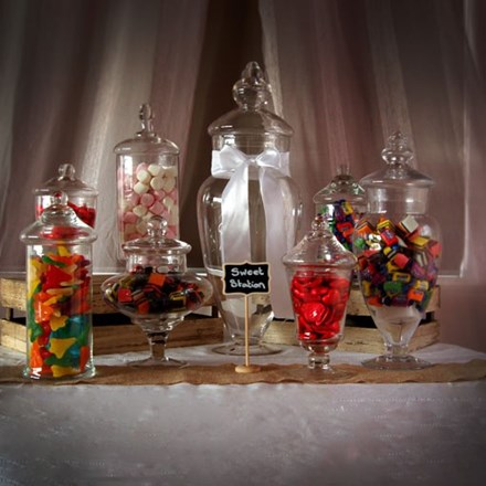 HIRE - Candy Buffet - 12 pce HIRE---Candy-Buffet---12-pce