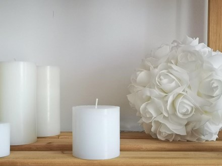 White Pillar Candle Small White-Pillar-Candle-Small