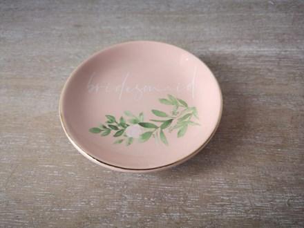 """Bridesmaid"" Trinket Plate BTP09"