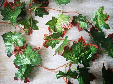 Maple Leaf garland 2.4m Maplegarland