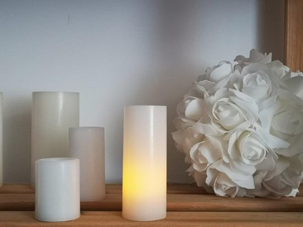 Wax Candle with LED Light 12.5cm Wax-Candle-with-LED-Light-12.5cm