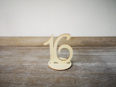 Wooden Standing Table Numbers 1-20 Smtable1-20