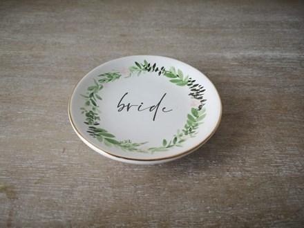 """Bride"" Trinket Plate BTP11"