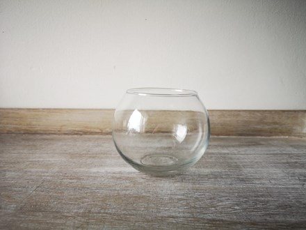 Fishbowl Vase 12cm fishbowl12