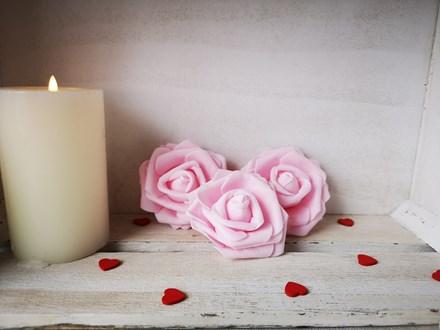 Foam Rose Pink 6cm Foam-Rose-Pink-6cm