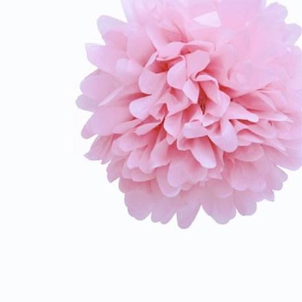 Baby Pink Tissue Pom Pom - Medium Baby-Pink-Tissue-Pom-Pom---Medium