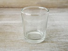 Clear Candle Holder Clear-Candle-Holder