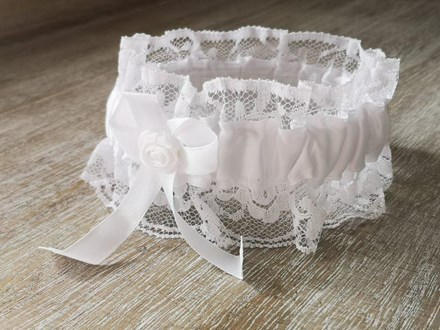 White-Satin-and-lace-Garter Whitegarterspecial