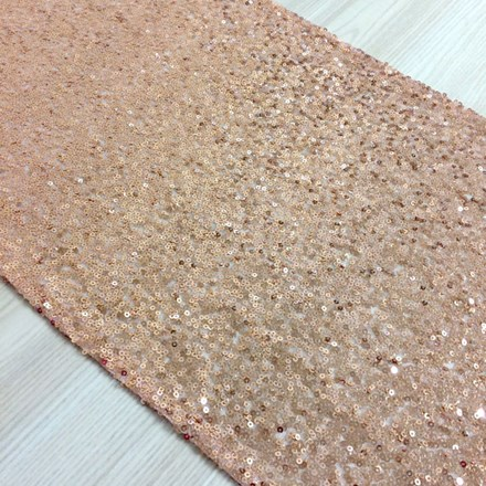 HIRE - Rose Gold Sequin Table Runner HIRE---Rose-Gold-Sequin-Table-Runner