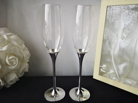 Champagne Flutes x 2 Champagneflute