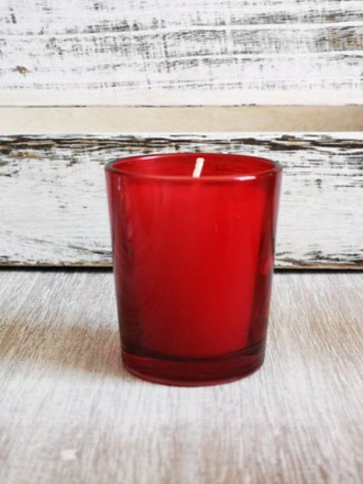 Hire - Red Votive Holder Hire-redvotive