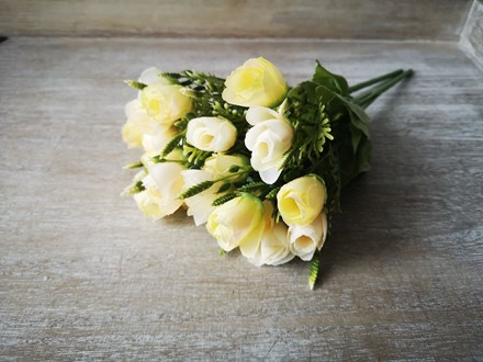 10 Head Yellow Rose Bouquet 10yellowrose