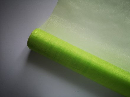 Green Organza Roll 9mtr Green-Organza-Roll-9mtr