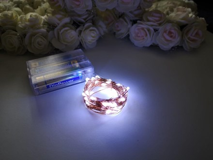 5m Seed Lights Cool White Copper Wire 5m-Seed-Lights-Cool-White-Copper-Wire