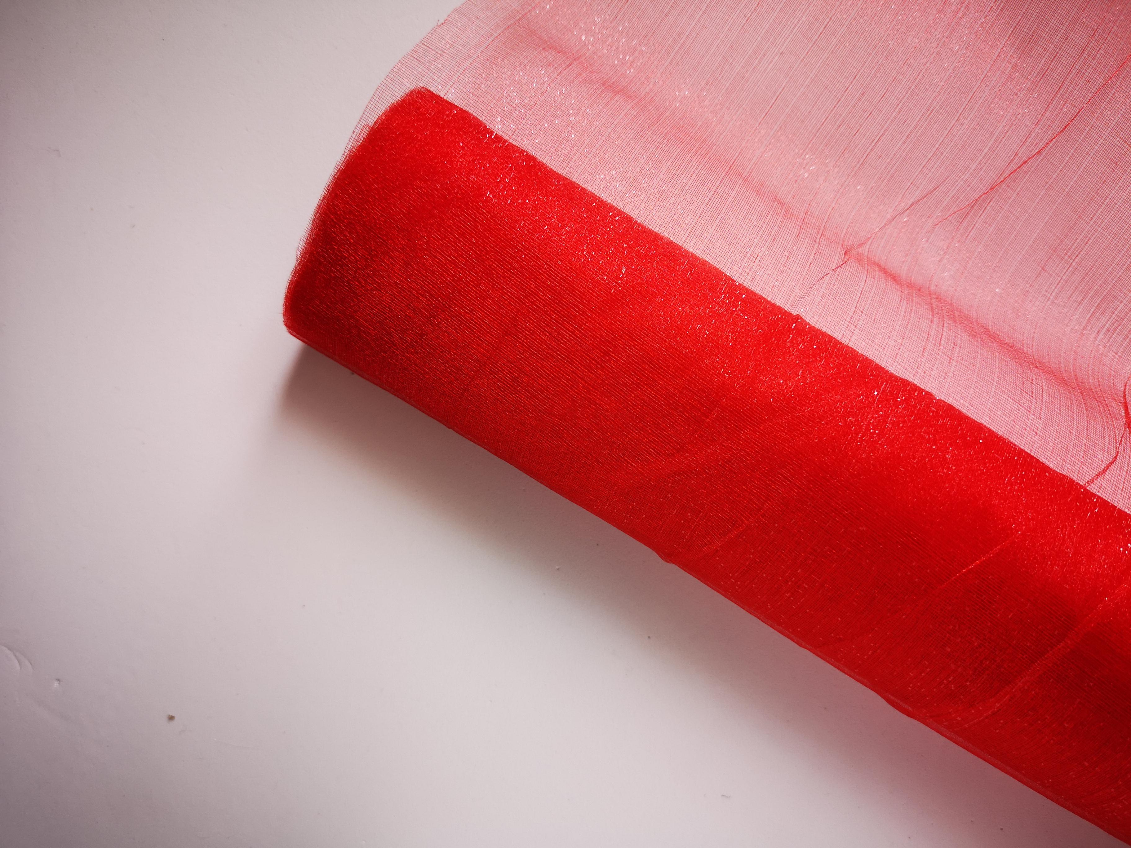 Red Organza Roll 9mtr Red-Organza-Roll-9mtr