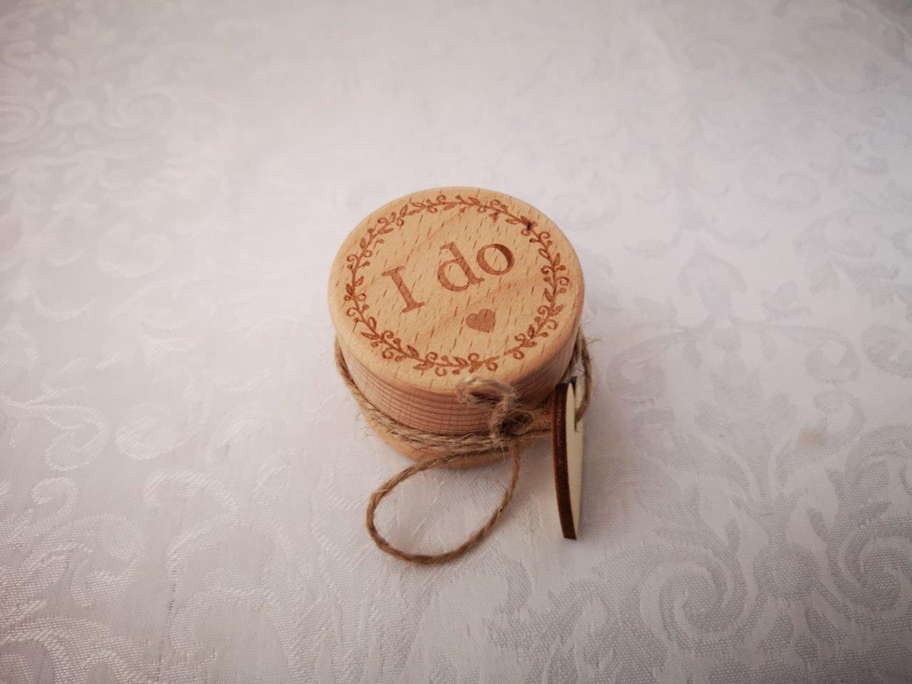 """I Do"" Ring Box Idobox"