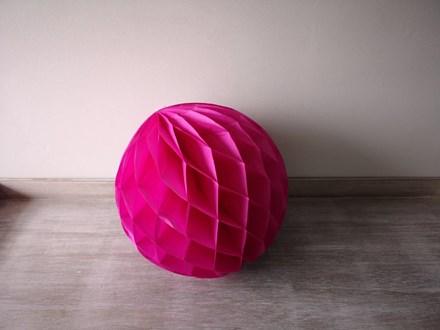 Pink Honeycomb Lantern 30cm Pink-Honeycomb-Lantern-30cm