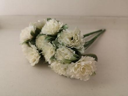 White Carnation 7 Head AF0385