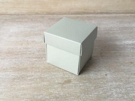Silver Favour Box 10 pcs KA101