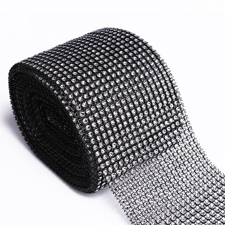 Diamond Look Wrap Black – 9mtr Roll Diamond-Look-Wrap-Black--9mtr-Roll
