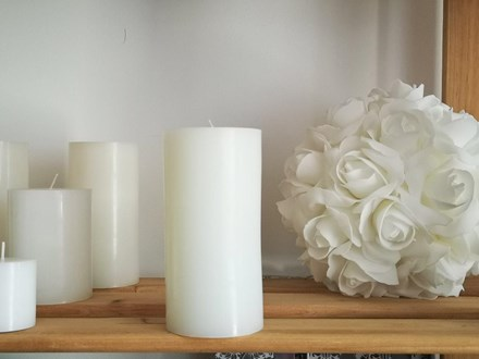 White Pillar Candle Large White-Pillar-Candle-Large