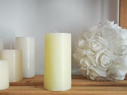 Ivory Pillar Candle Large Ivory-Pillar-Candle-Large